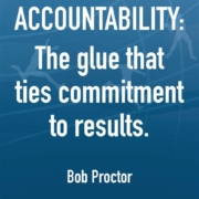 Be Accountable to yourself