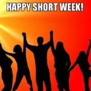 It's a short week