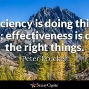 Busy vs Effectiveness